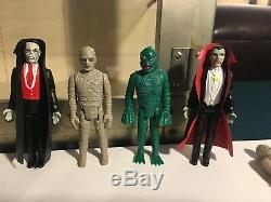 11 Vintage Remco Monster Collection Must See Htf Loose Creature Frankenstein Wow