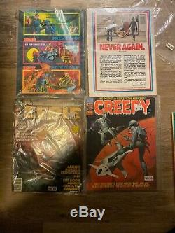 13 Warren Magazine Lot CREEPY & EERIE Very Nice Condition Early Issues Must See