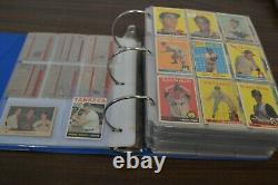 1950's-1980's TOPPS BASEBALL CARD COLLECTION! STARS, HOF's, ETC! MUST SEE