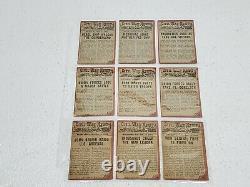 1962 Topps Civil War News COMPLETE Set Lot 86/88 VG-EX Nice! MUST SEE! Checklist