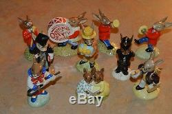 1974-1990 Royal Dalton Bunnykins Figurine Collection! 10 Total! Must See