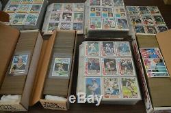 1979-1985 Topps Baseball Card Set Collection! Overall Nm-mt! Must See