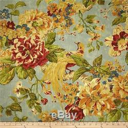 2 DRAPES WAVERLY'S Engagement Garden Collection Must See Bird of Paradise Floral