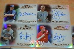 24 2013 Topps Tribute Autographed Baseball Card Collection! Must See! Stars