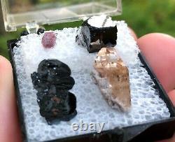 A Sweet Suite from Utah! Topaz, Beryl, Bixbyite, Hematite, Must See