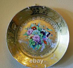 ANTIQUE RUSSIAN IMPERIAL PORCELAIN PLATE 19th CENTURY MUST SEE