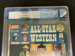 All-star Western #10 Cgc 8.5 (dc, 1972) 1st Jonah Hex! Must-see