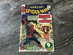 Amazing Spider-Man #15 1st Kraven The Hunter 1964 Beautiful Colors must see pics