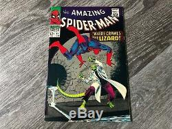 Amazing Spider-Man #44 Marvel 1967 2nd App of Lizard Must See Pics High Grade