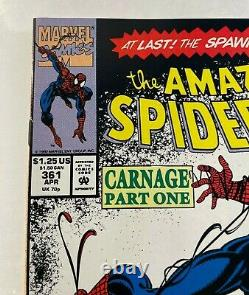 Amazing SpiderMan #361 1st prt 344,345, 359,360,362 & 363 1st Carnage MUST SEE