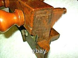 Antique D. R. Barton, Rochester 1800 s Plow Plane, VERY NICE, MUST SEE