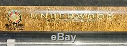 Antique Underwood Standard 4 bank Portable Typewriter with Case1929 Must see