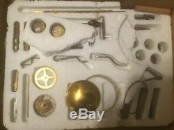 Antique skeleton clock and parts For rebuild Or Restoration SEE PHOTOS A MUST