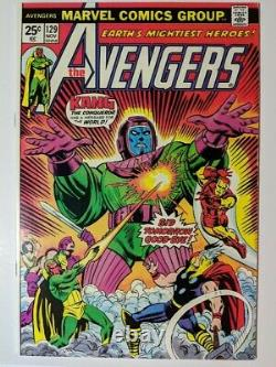 Avengers #129 CGC It! Kang! Rama Tut! Value Stamp Intact NM Must See To Believe
