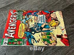 Avengers #83 High Grade 1st Valkyrie Lady Liberators 1970 Must See Pics