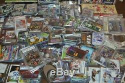 Awesome Football Card Collection! Auto's, Gu, Rc, Graded, Inserts! Must See