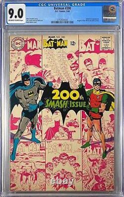BATMAN #200 CGC 9.0 (DC, 1968) NEAL ADAMS COVER! VF/NM Classic MUST-SEE