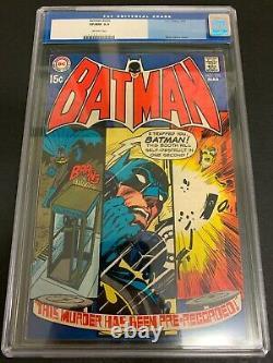 Batman #220 Cgc 9.0 (dc, 1970) Neal Adams Cover! Must-see