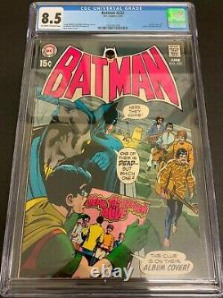 Batman #222 Cgc 8.5 (dc, 1970) Neal Adams Cover! Beattles! Must-see