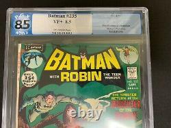 Batman #235 Pgx 8.5 (dc, 1971) Talia! Ras Al Ghul! Must-see! Like Cgc