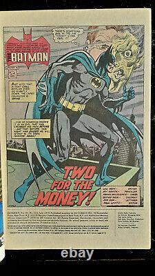 Batman 313 Whitman variant 1st Tim Fox NM Sharp Corners White pages Must See