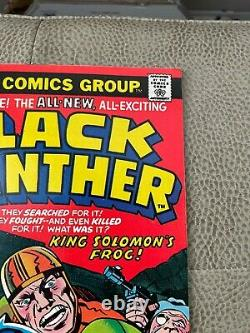 Black Panther 1-13 all Jack Kirby Issues (Marvel 1976) Must See