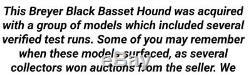 Breyer RARE OOAK Test Basset Hound MUST SEE