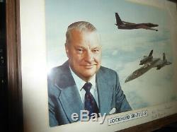 C. L. Kelly Johnson-Lockeed- Aeronautical Engineer SR-71/U-2 Signed Photo-Must See