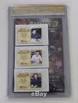 CGC Graded 9.6 Gotham By Midnight No. 1, Signed By 9 Cast Members, Must See