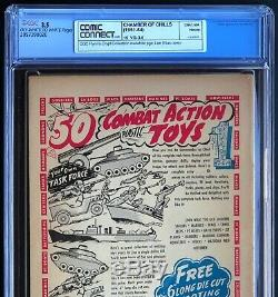 CHAMBER of CHILLS #15 (Harvey 1953) CGC 3.5 OW-W PCH Lee Elias Must See