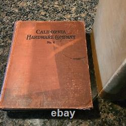 California Hardware Catalogs Collection Must See! Tools Blacksmith Vises