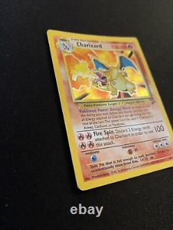 Charizard 4/130 Original Base Set 2 Holo Pokemon Card Psa Must See