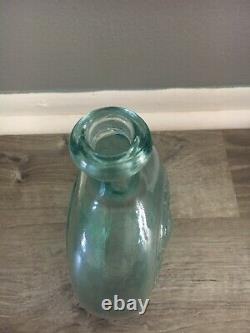 Corn for The World Baltimore Monument Glass Flask Rare Must See
