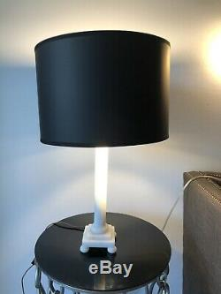 Donghia Italy Signed 23 Table Lamp Marble Must SEE RARE Must SEE Quality