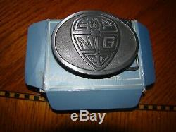 El Paso Natural Gas EPNG Belt Buckles! Lot of 2! RARE Must see