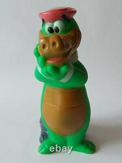 Extremely Rare Hanna Barbera Wally Gator Squeaky Figure 1960s Must See