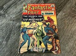 FANTASTIC FOUR #27 (Doctor Strange 1st cross-over)1964 Must See Pics