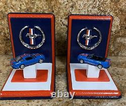 Ford Mustang Set of Custom Bookends Fabulous MUST SEE