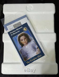 Franklin Mint Scarlett O'Hara Porcelain Portrait Baby Doll NIB with COA MUST SEE