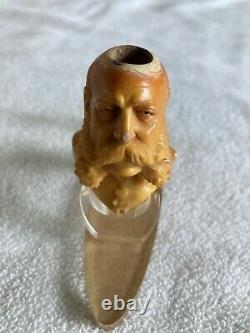 Franz Joseph I of Austria Carved Meerschaum Pipe 1890s VERY RARE Must See