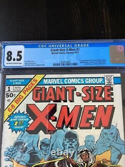 GIANT SIZE X-MEN 1 CGC 8.5 OW To White Pgs. Gorgeous Copy 3 Day Auction MUST SEE