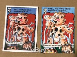 GPK Garbage Pail Kids Untols Stories Sketch Drippy Dan 1/1 Must See