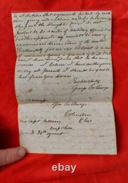 George Collings Civil War Ohio 24th OVI Archive Adams County, Ohio MUST SEE