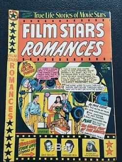 Golden Age Comic Collection 1950 Film Stars Romances V1#1 5.5 Fine- Must See