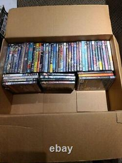 HUGE Anime DVD Collection/Lot! MUST SEE! Over 50 dvds plus sets free shipping