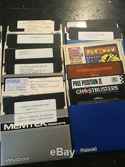 HUGE Commodore 64 collection tons of stuff must see