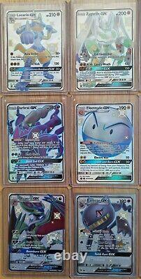 Hidden Fates Full Art GX Shiny Vault 12 card bundle must see, Bargain