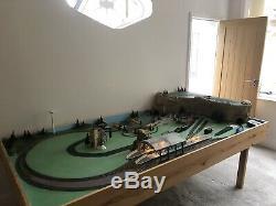Hornby OO Gauge Train Set/layout Huge must See