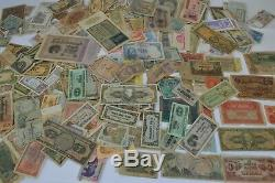 Huge Collection Of Paper Currency! Must See
