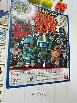 Huge Spiral Zone Keshi Collection Bandai Japan Gashapon Lot Loose Must See Rare